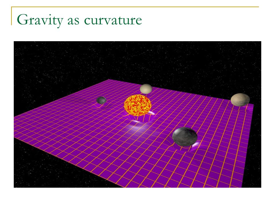 Gravity as curvature