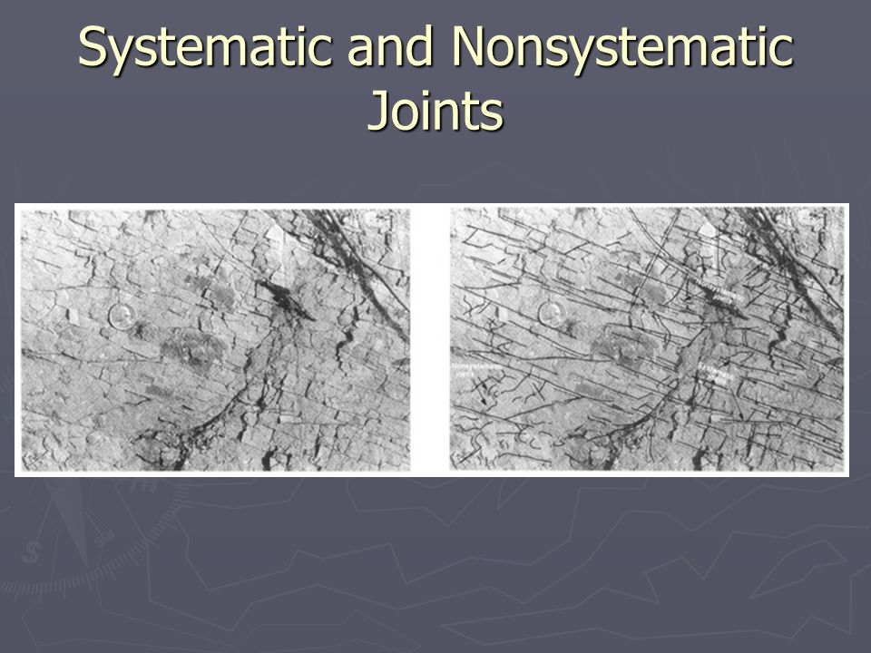 Systematic and Nonsystematic Joints
