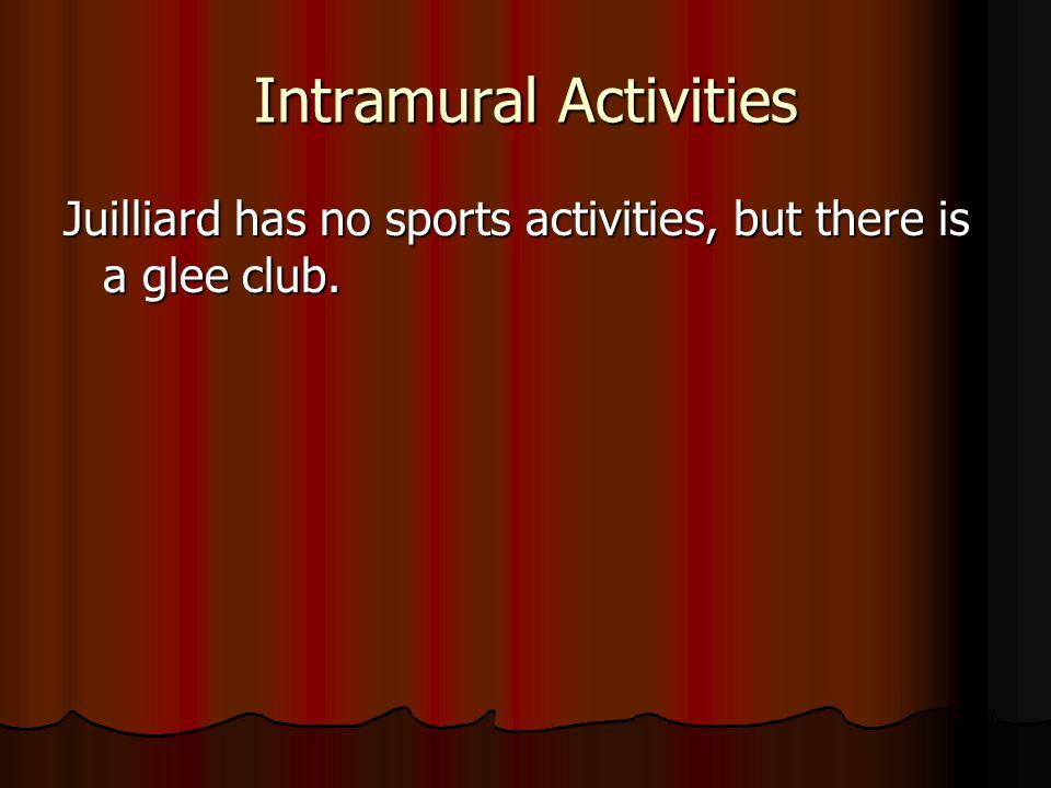 Intramural Activities