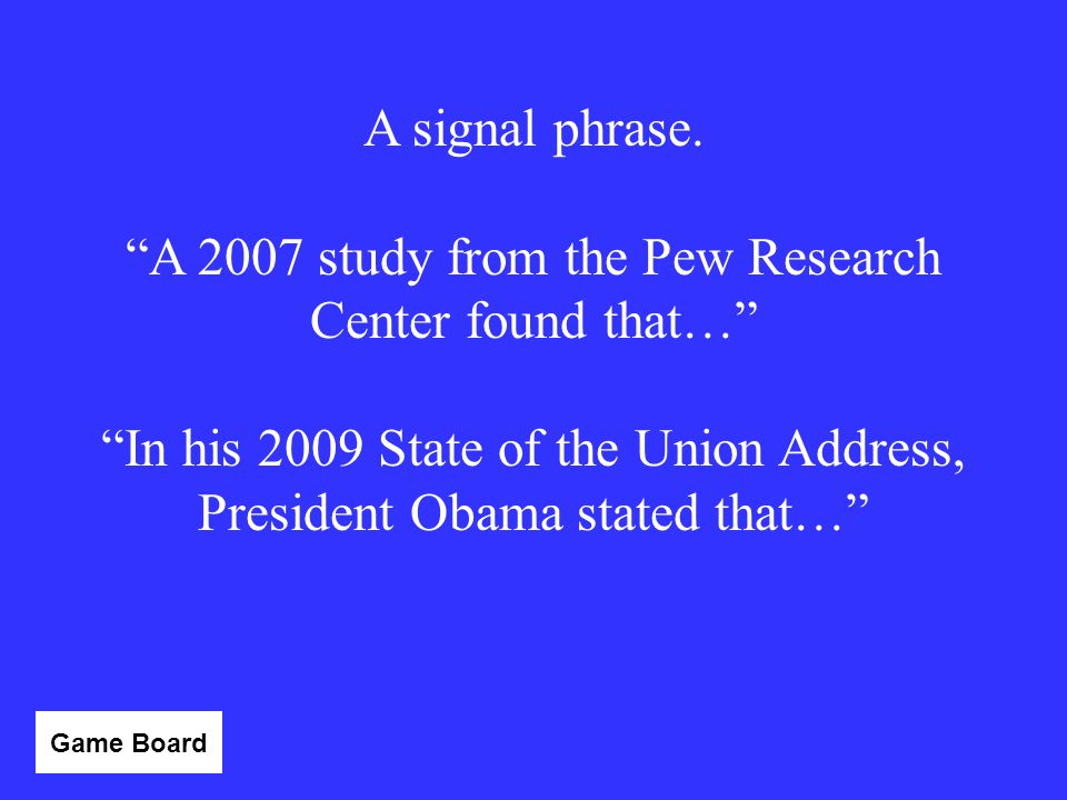 A 2007 study from the Pew Research Center found that…