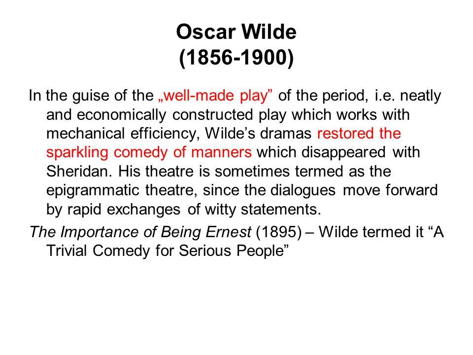 Oscar Wilde (1856-1900)