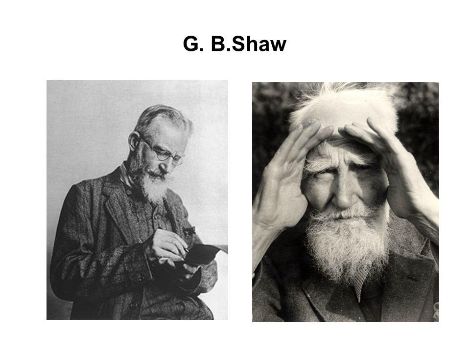 G. B.Shaw