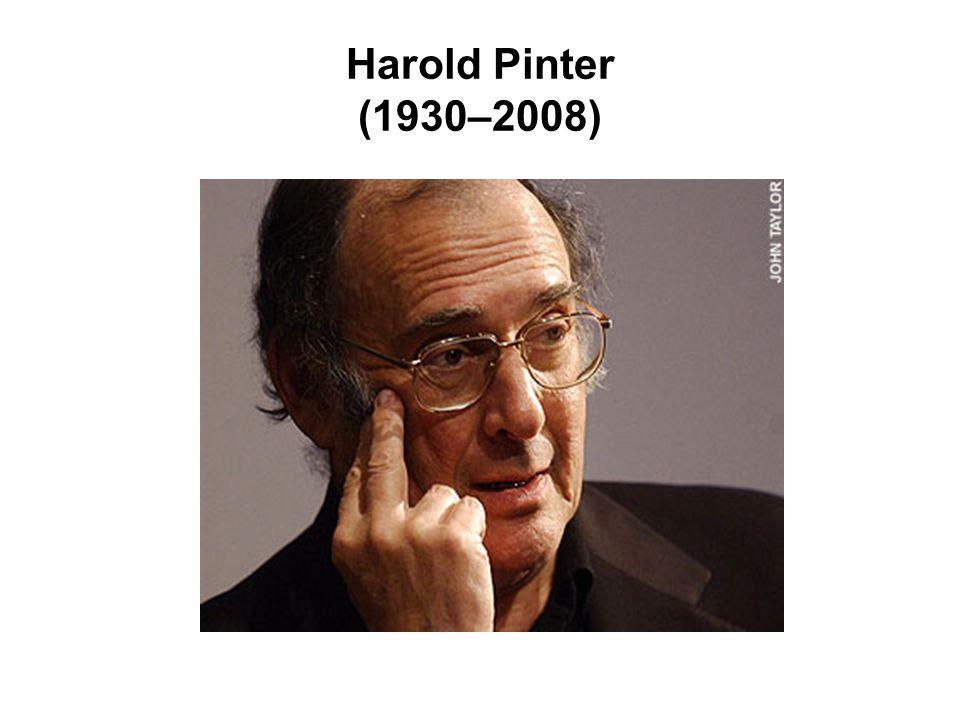 Harold Pinter (1930–2008)