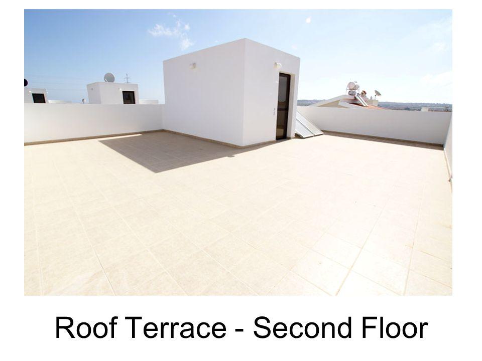 Roof Terrace - Second Floor