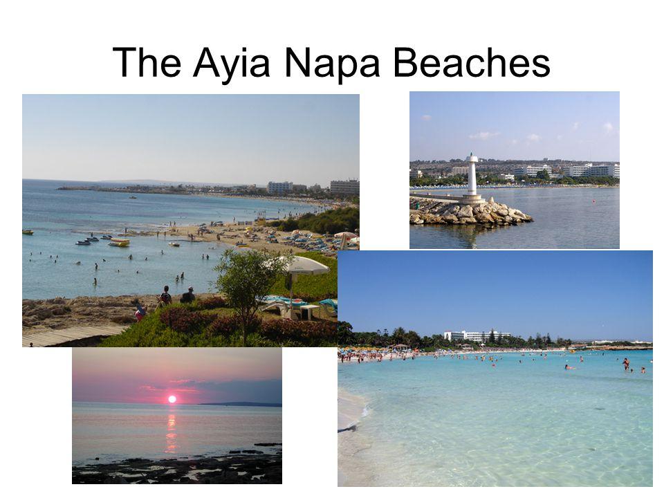 The Ayia Napa Beaches