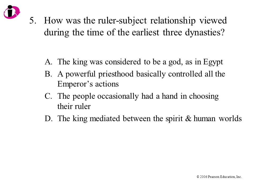 5. How was the ruler-subject relationship viewed during the time of the earliest three dynasties