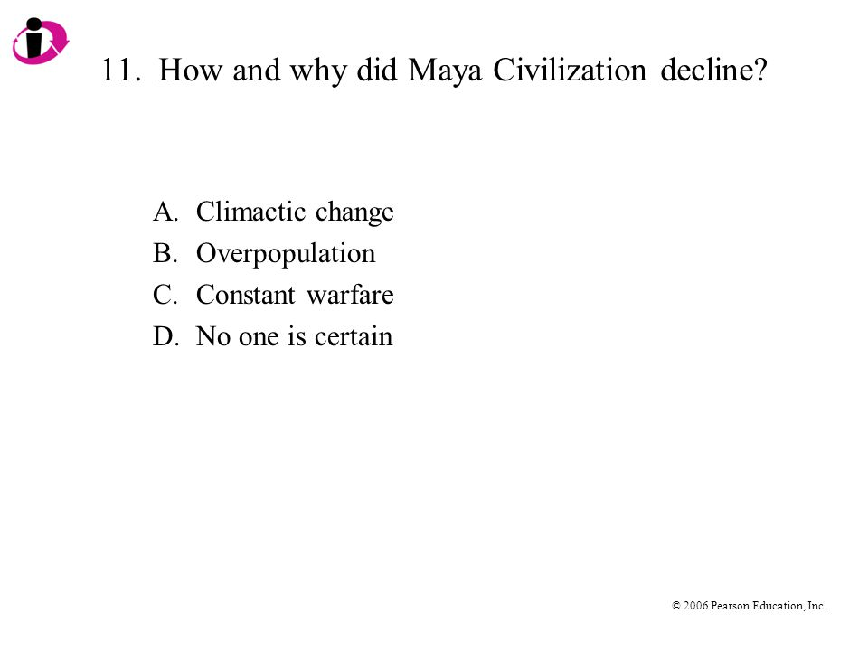 11. How and why did Maya Civilization decline