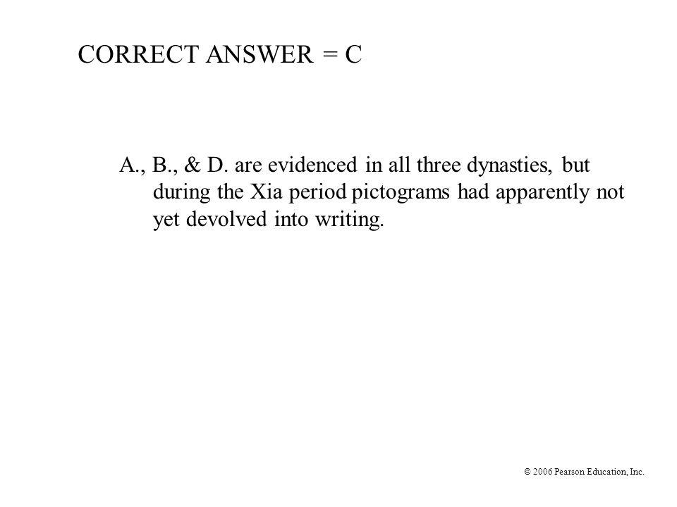 CORRECT ANSWER = C