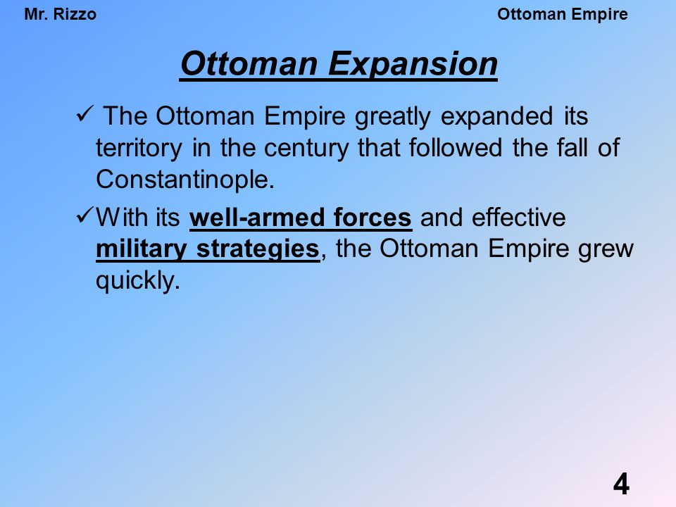 Decline and modernization of the Ottoman Empire