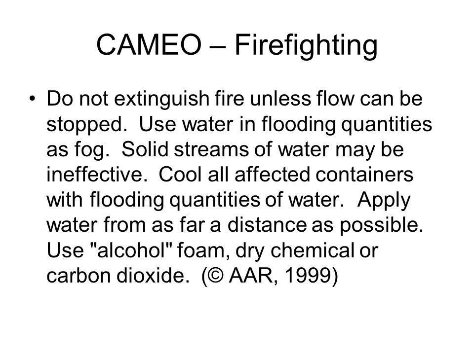 CAMEO – Firefighting