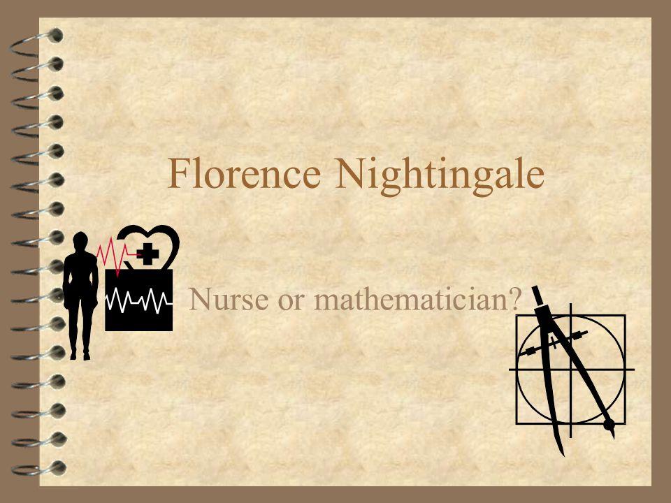 Nurse or mathematician