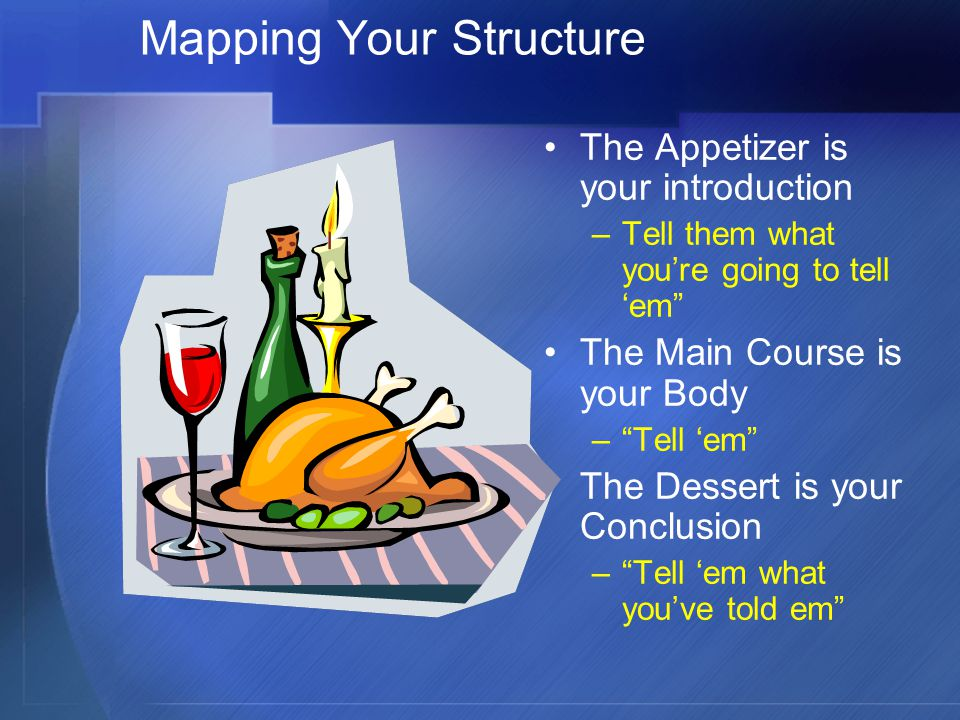 Mapping Your Structure