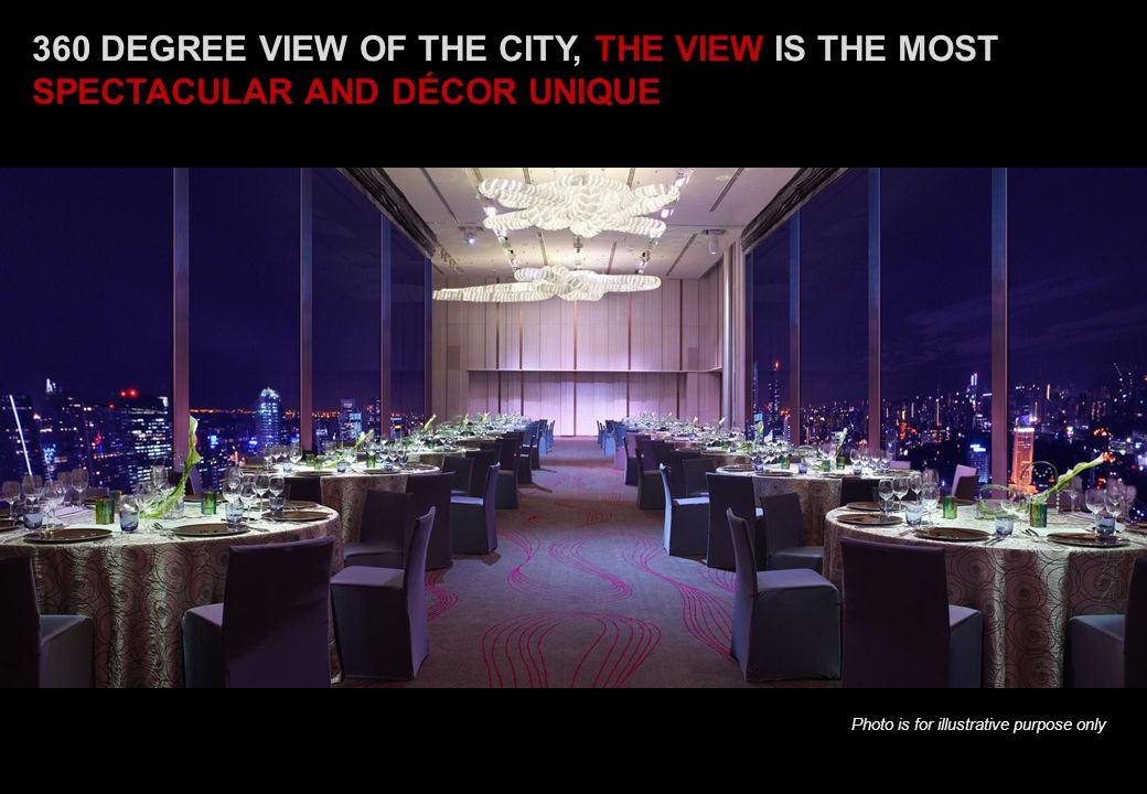 360 DEGREE VIEW OF THE CITY, THE VIEW IS THE MOST SPECTACULAR AND DÉCOR UNIQUE