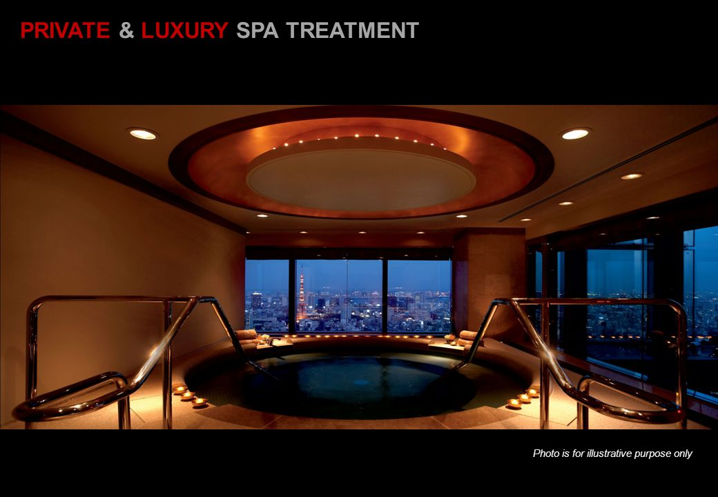 PRIVATE & LUXURY SPA TREATMENT