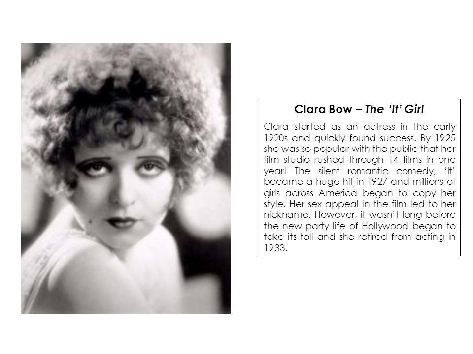 Clara Bow – The 'It' Girl