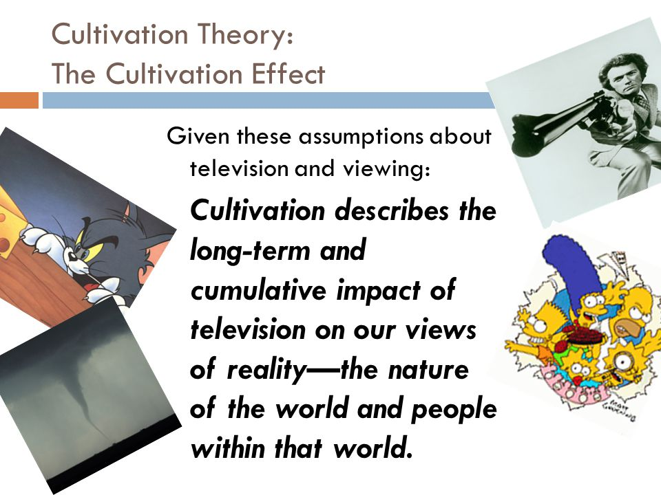 Cultivation Theory: The Cultivation Effect