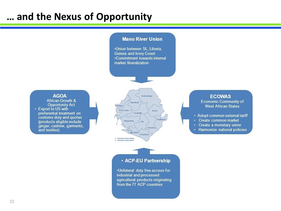 … and the Nexus of Opportunity
