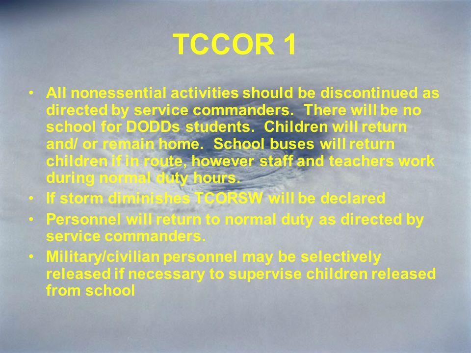 TCCOR 1