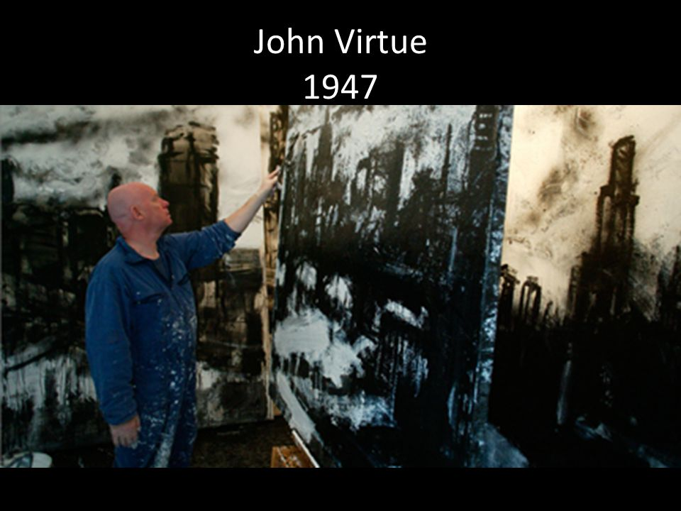 John Virtue 1947