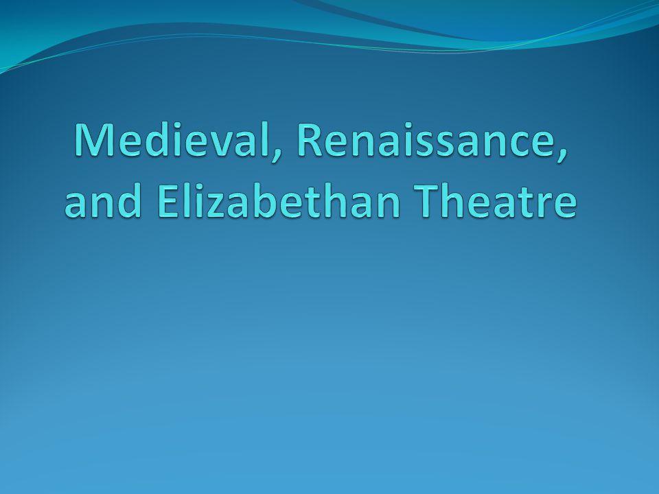 Medieval, Renaissance, and Elizabethan Theatre