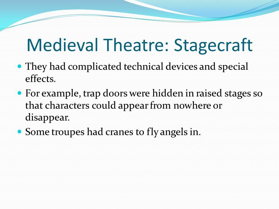 Medieval Theatre: Stagecraft