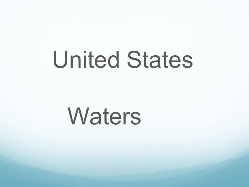 United States Waters
