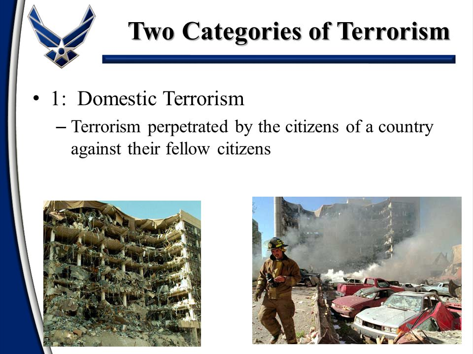 Two Categories of Terrorism