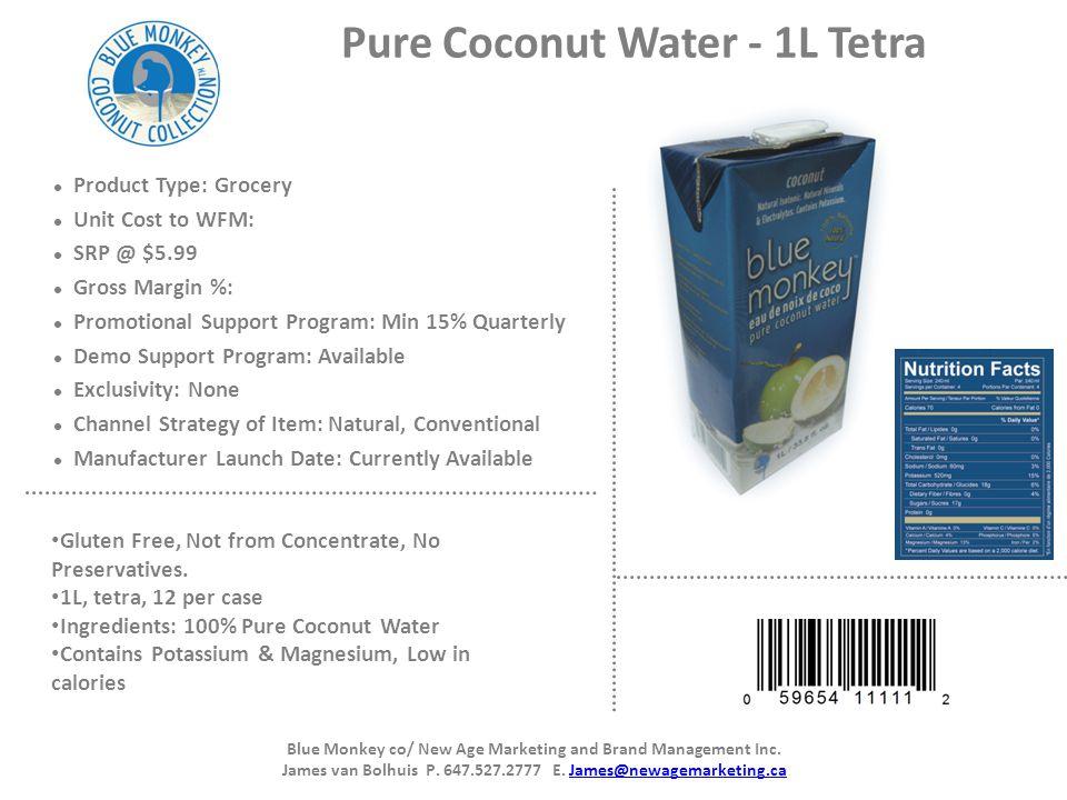 Pure Coconut Water - 1L Tetra