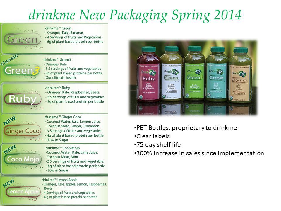 drinkme New Packaging Spring 2014