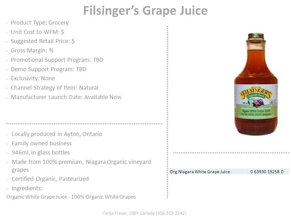 Filsinger's Grape Juice