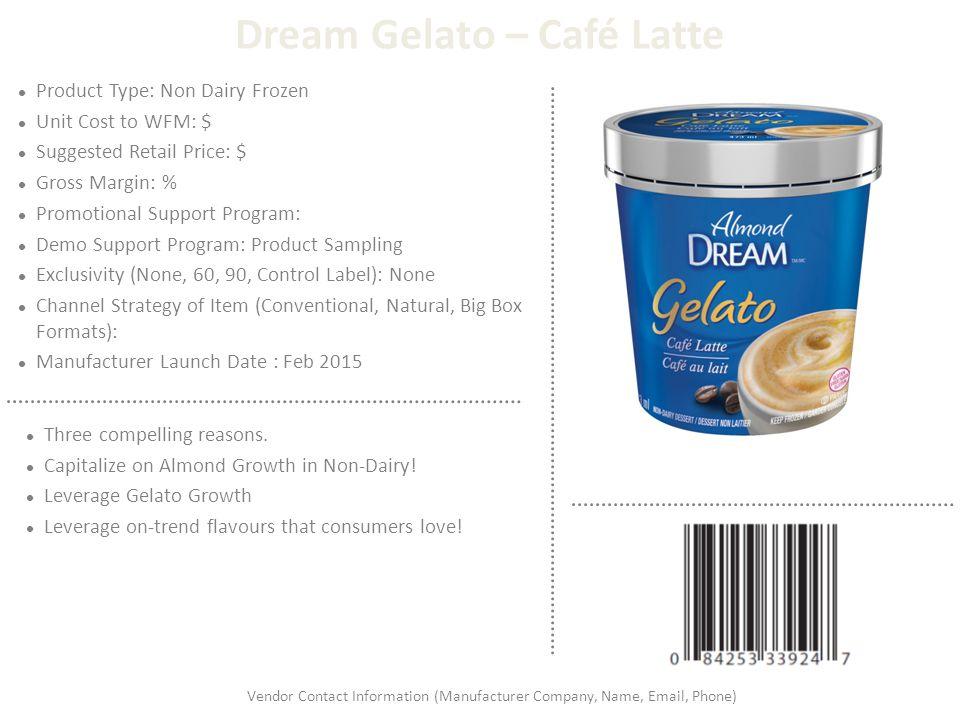 Dream Gelato – Café Latte