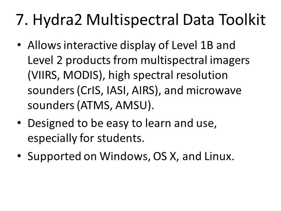 7. Hydra2 Multispectral Data Toolkit