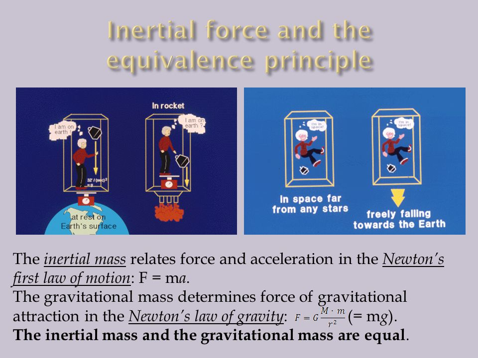 Inertial force and the equivalence principle