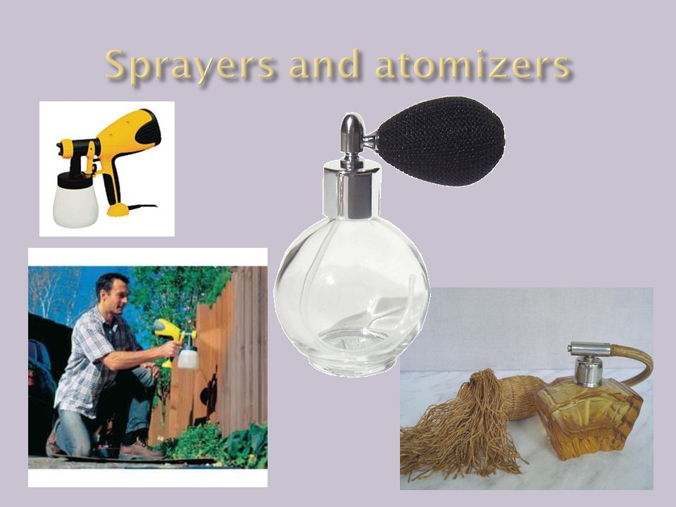 Sprayers and atomizers