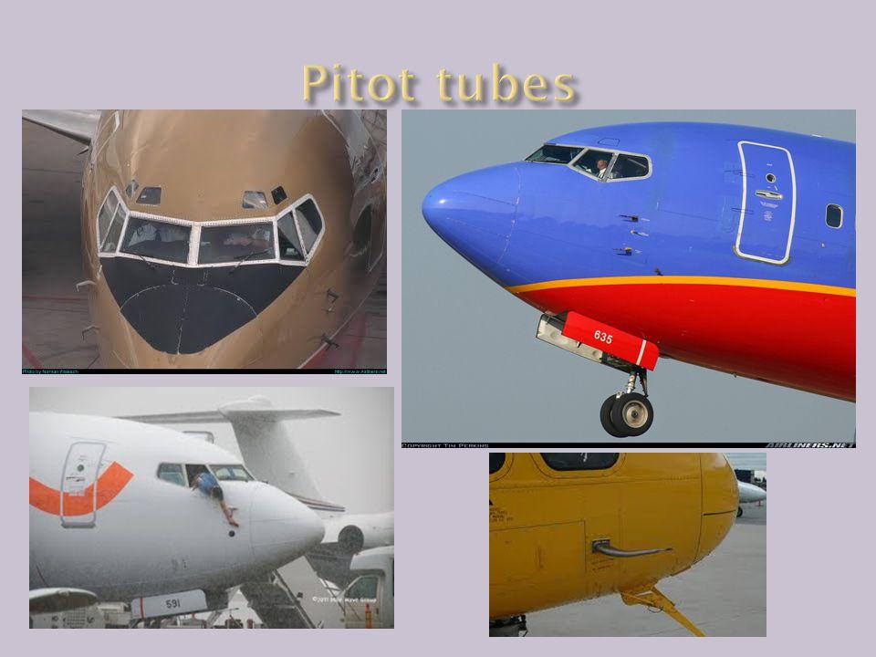Pitot tubes