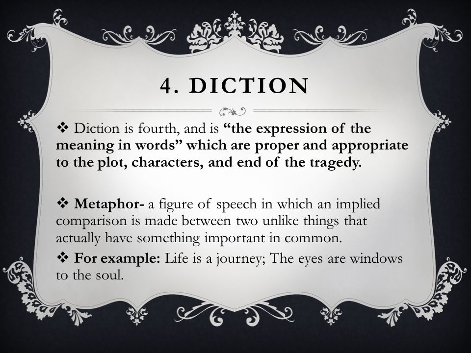 4. Diction
