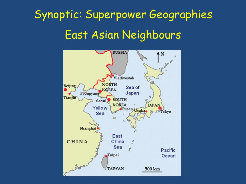 Synoptic: Superpower Geographies East Asian Neighbours