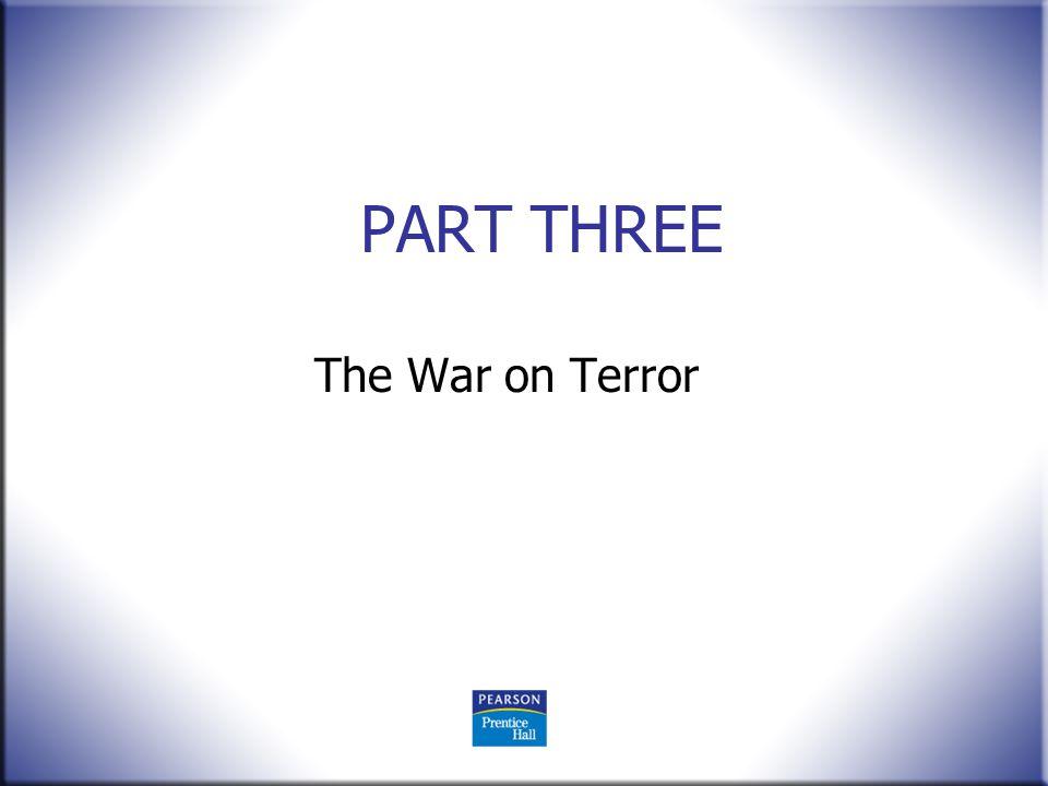 PART THREE The War on Terror
