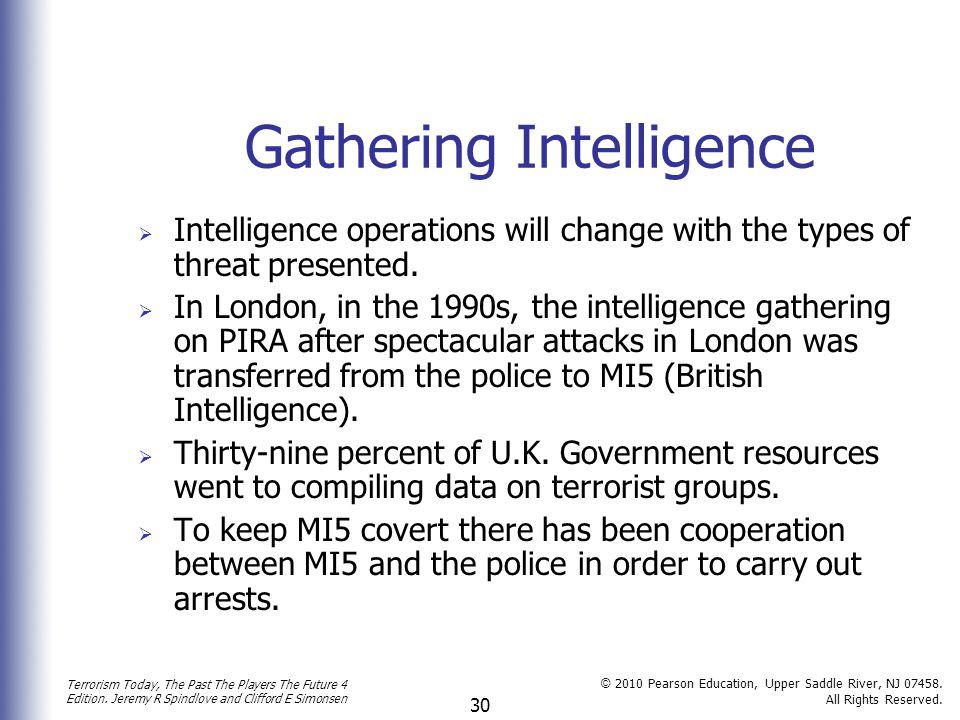 Gathering Intelligence