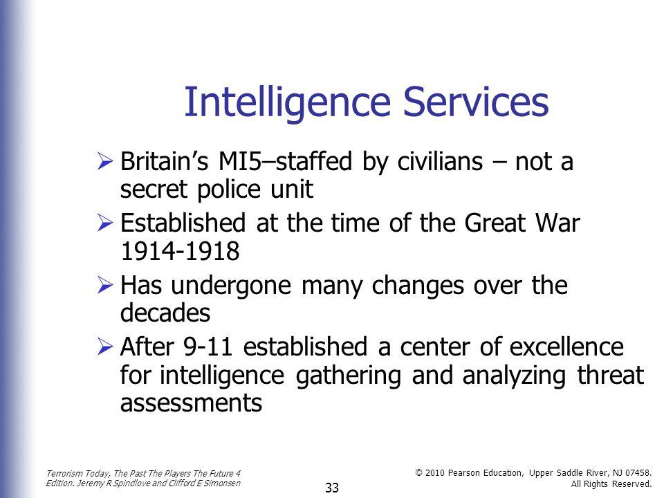 Intelligence Services