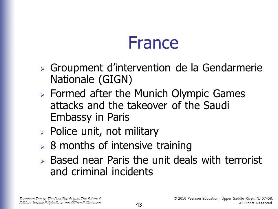 France Groupment d'intervention de la Gendarmerie Nationale (GIGN)