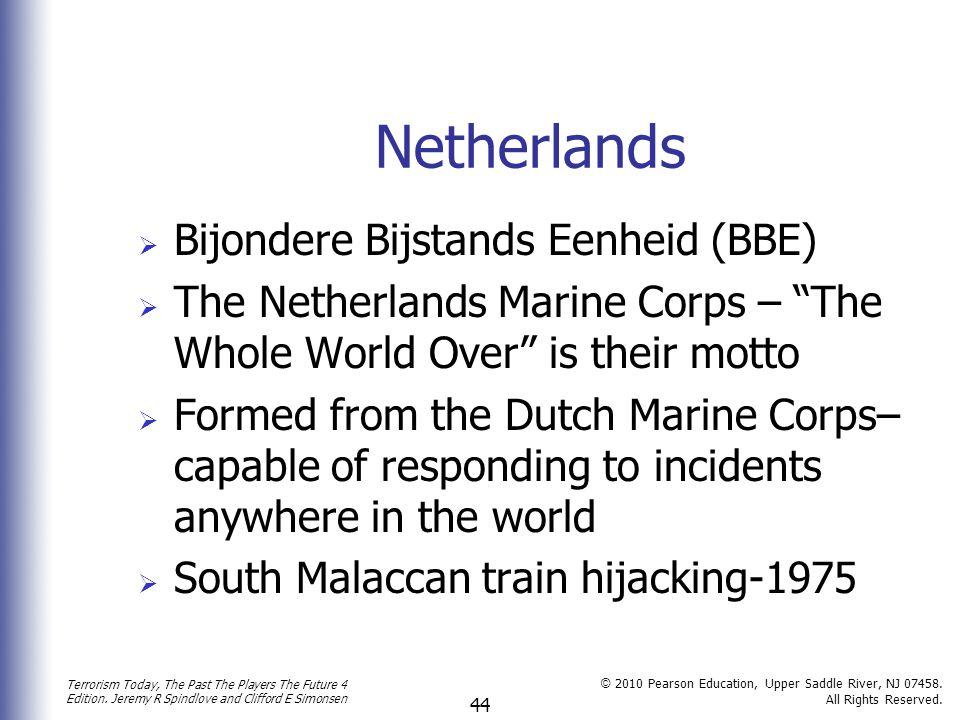 Netherlands Bijondere Bijstands Eenheid (BBE)
