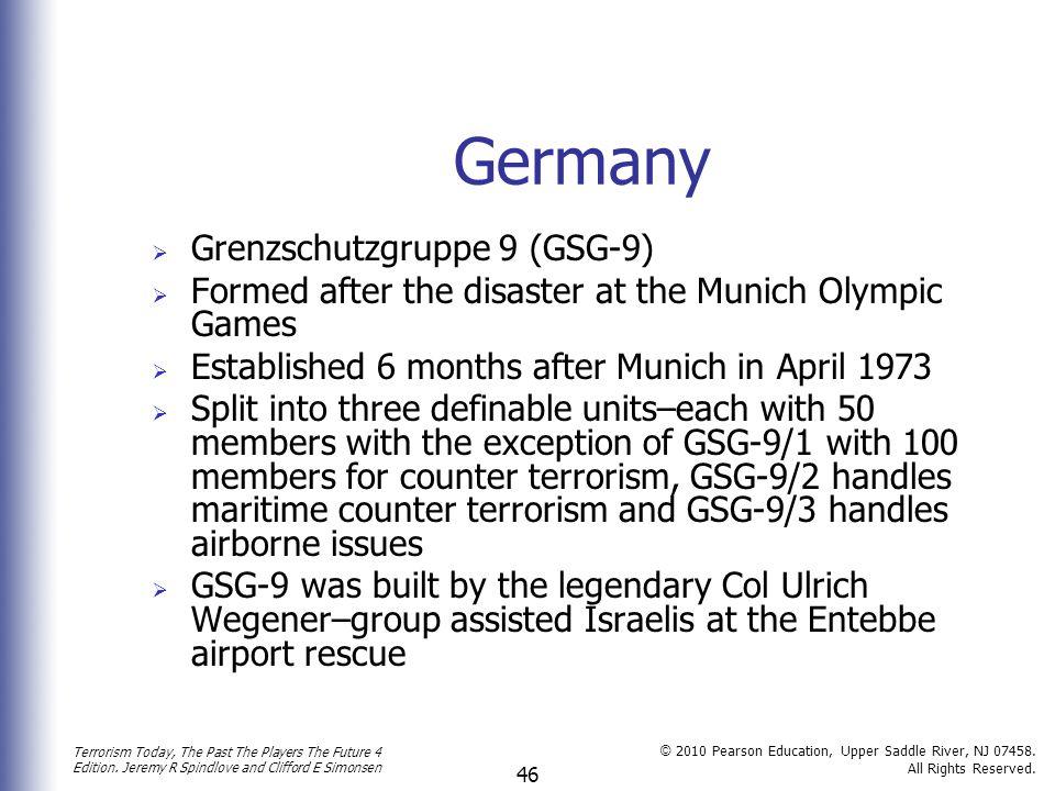 Germany Grenzschutzgruppe 9 (GSG-9)
