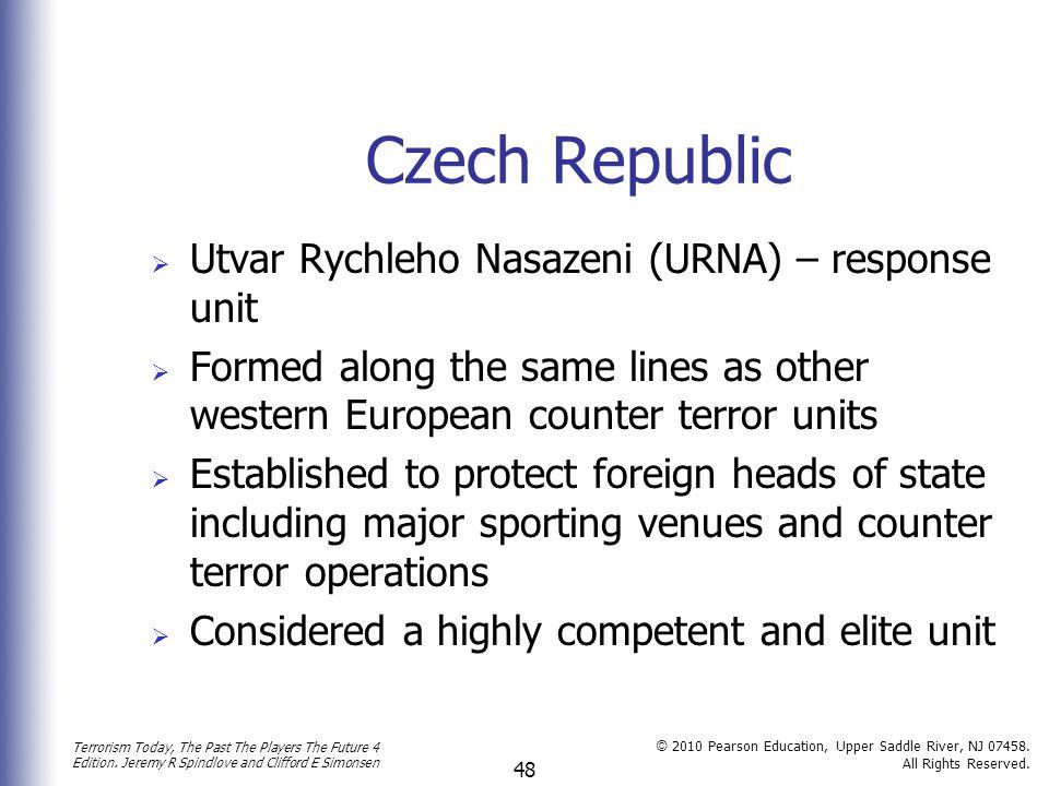 Czech Republic Utvar Rychleho Nasazeni (URNA) – response unit