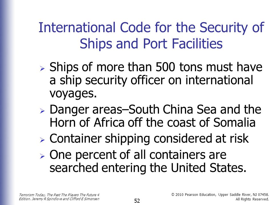 International Code for the Security of Ships and Port Facilities