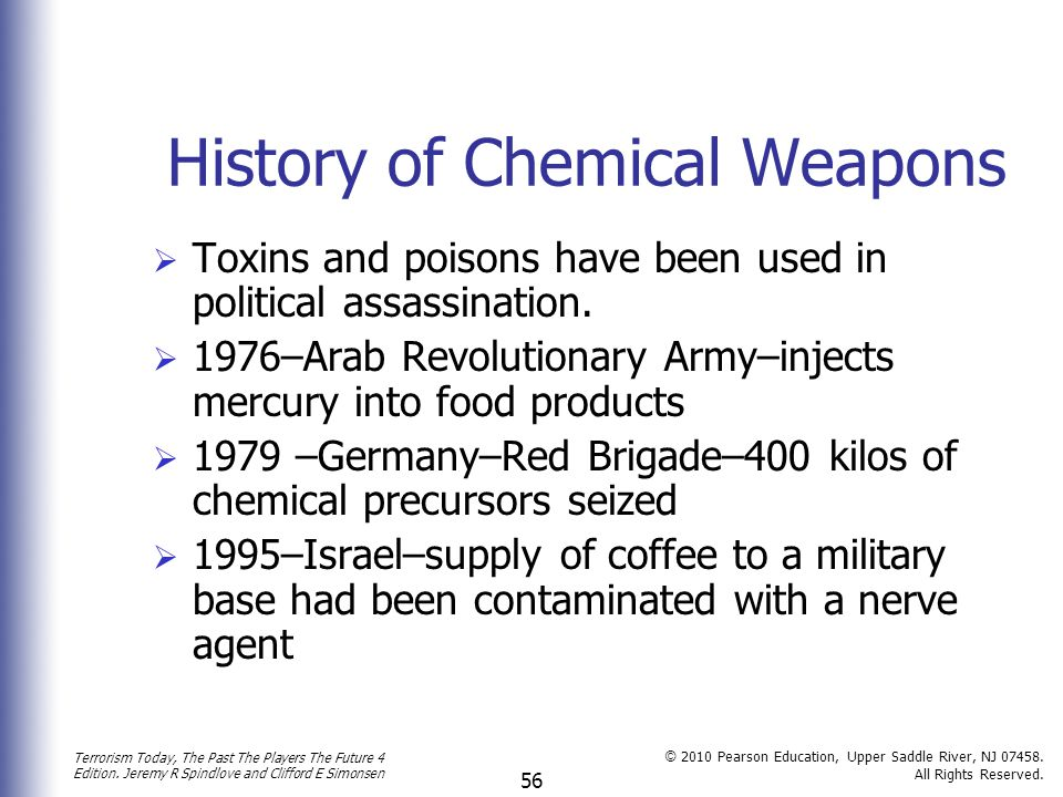 History of Chemical Weapons