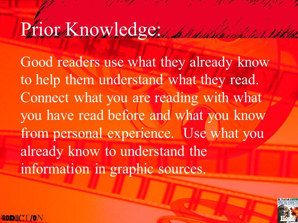 Prior Knowledge: