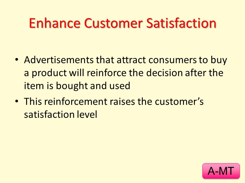 Enhance Customer Satisfaction