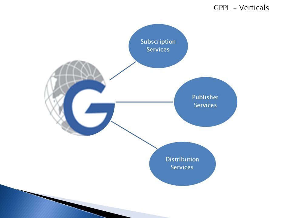GPPL – Verticals Subscription Services Publisher Services