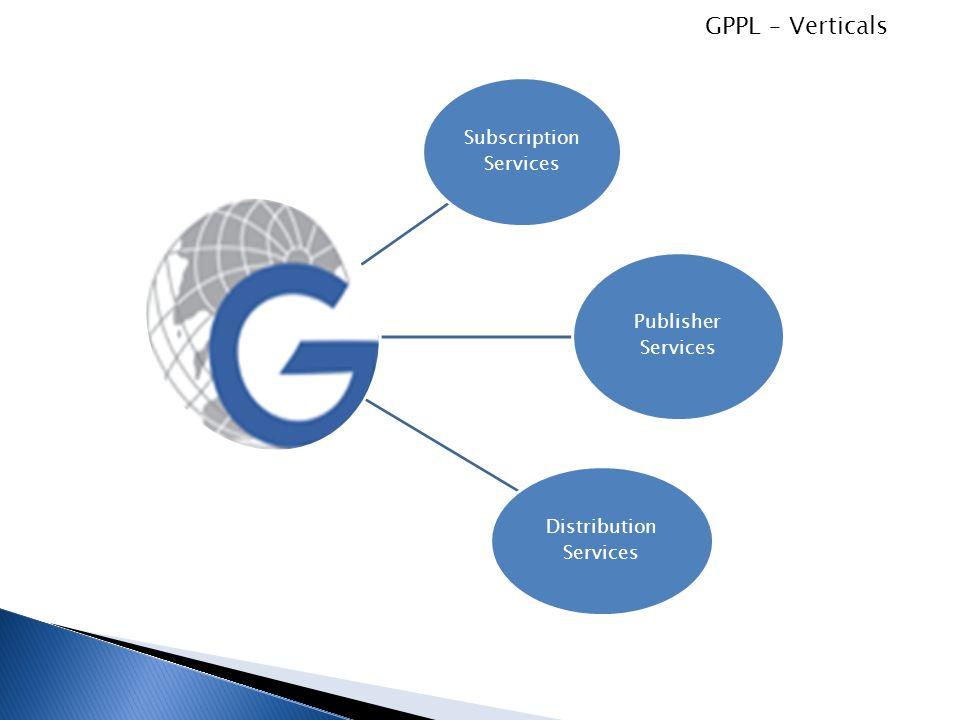 GPPL – Verticals Subscription Services Publisher Services